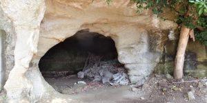 亀の窟。成福寺